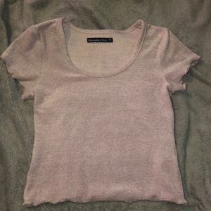 Abercrombie and Fitch crop top.